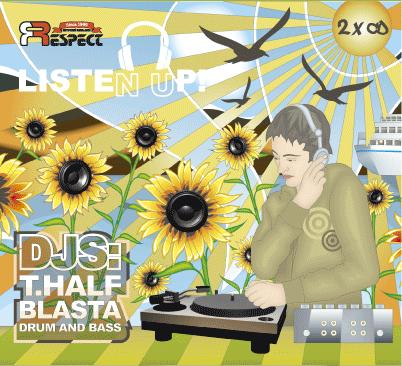 Listen Up! Mixed By T.Half & Blasta - 2CD