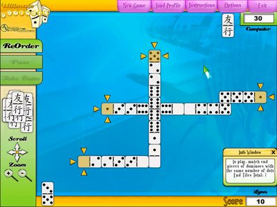 Игра Game House: Ultimate Dominoes